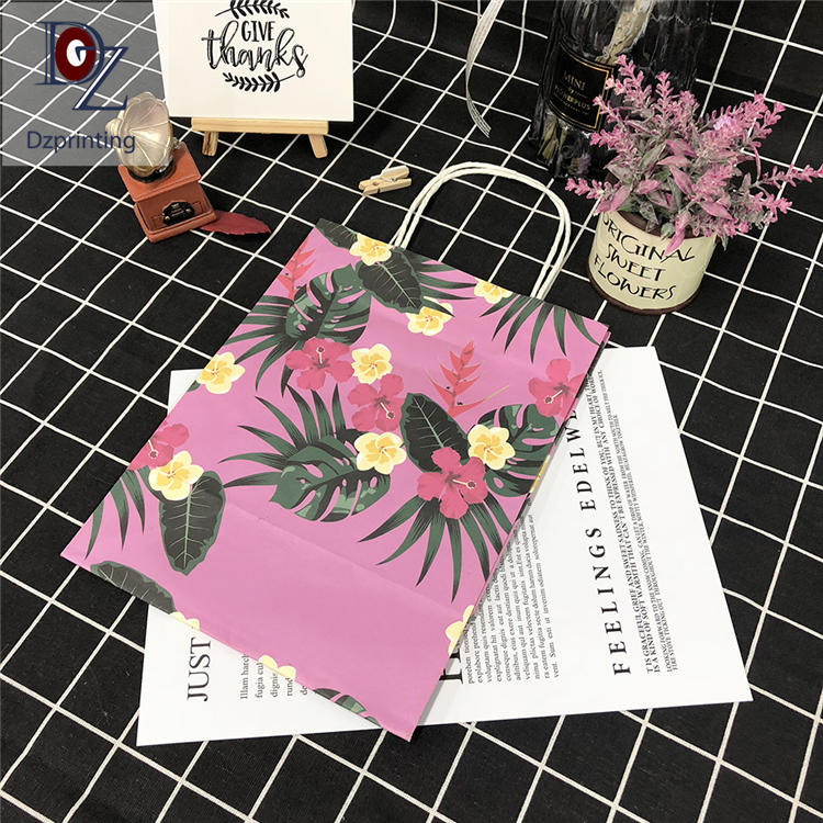 25 years factory clothing packaging gift bag with logo print