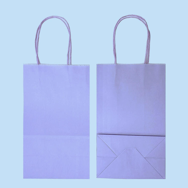 Cheap multi color printing shopping gift bags eyelash packaging paper bags for cosmetics