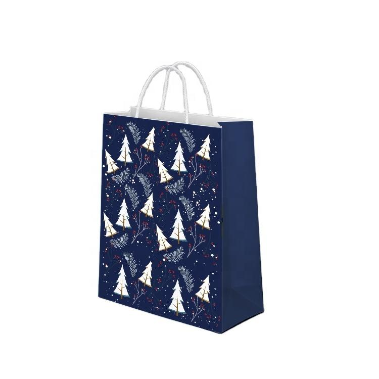 Wholesale Cheap Custom Design Shopping Paper Bags With Your Own Logo