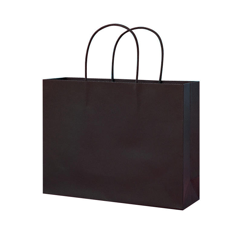 Small with handles shoppingpaper bag black hat cosmetic paper bag gift Winepaper bags with handles bulkwedding album bag