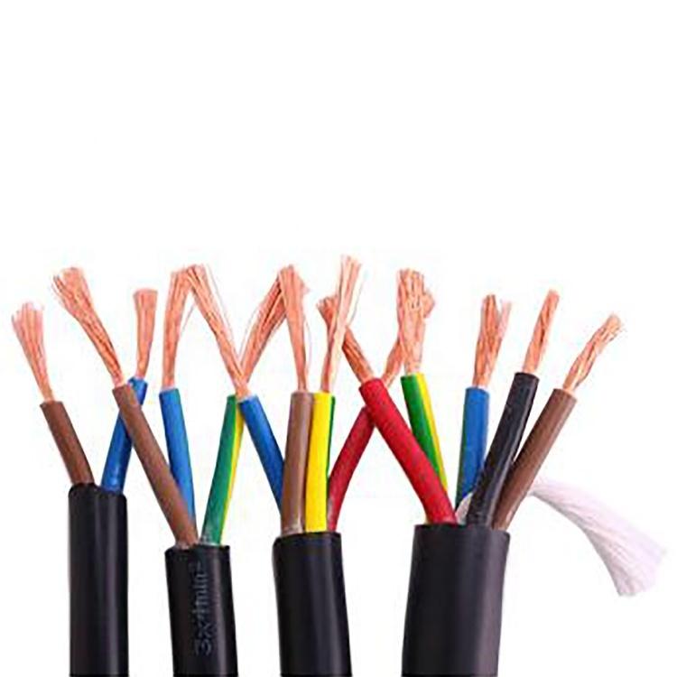 20205 x 4mm2 cable pvc5 core 4mm cable pvc 50mm2 rubber flexible power cable for sale