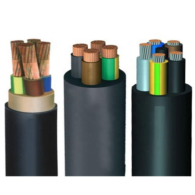 Guangdong cable factory manufactory heavy siliconegeneral rubber cable 061kv 4 cores rubber power cable with best price