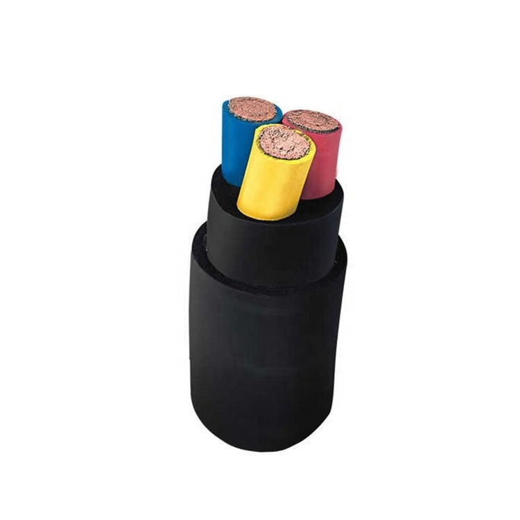 2020 Guangdong cable supplier 4 core rubber cables hi end cable shieldedwire 3x4 shielded rubber cable