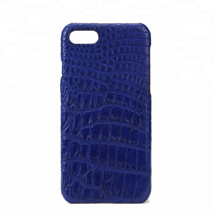 Luxury New Design High QualityCrocodile Leather Mobile Phone Shell