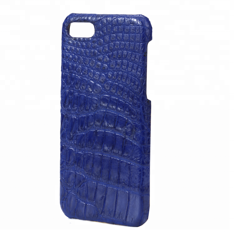 Luxury New Design High QualityCrocodile Leather Mobile Phone Shell