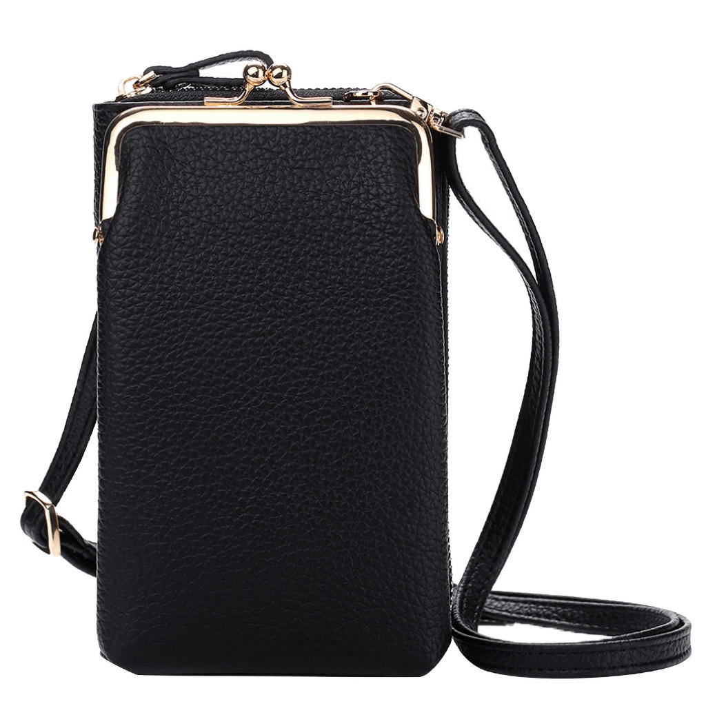 designer handbags Women Fashion Solid Wallet Large Capacity Mobile Phone Bag Card Slot Adjustable Shoulder Strap bag