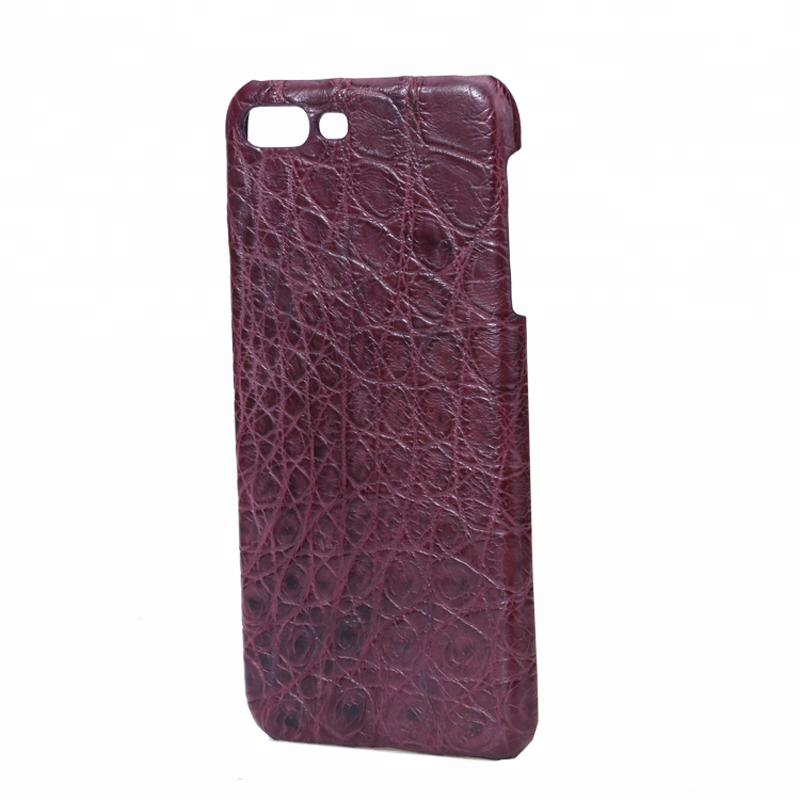 Hot Sale Custom Luxury Crocodile Leather Protective phone case