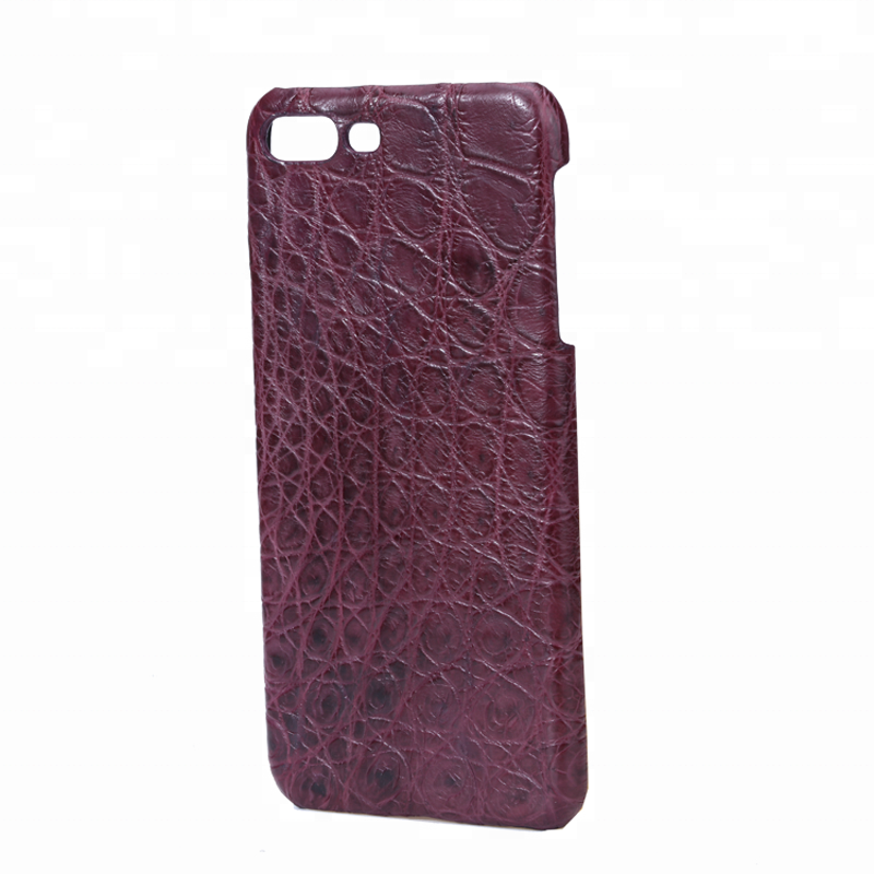 Hot Sale Custom Luxury Crocodile Leather Protective phone case