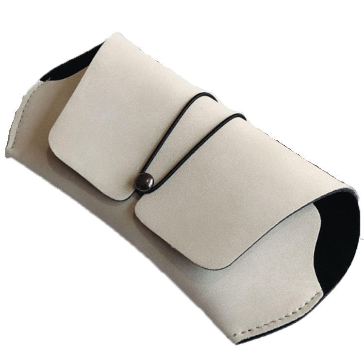 NEW PU Leather Glasses Case Cover Sunglasses Glasses Holder Box Eyeglasses Solid Storage Men Women Portable Glasses Pouch Bag