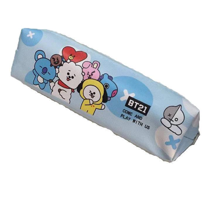 San-X fashion new Kawaii Fabric Pencil Bag Cute animal zipper Pen Box Storage bag For Kids stationery Boy girl friend gift