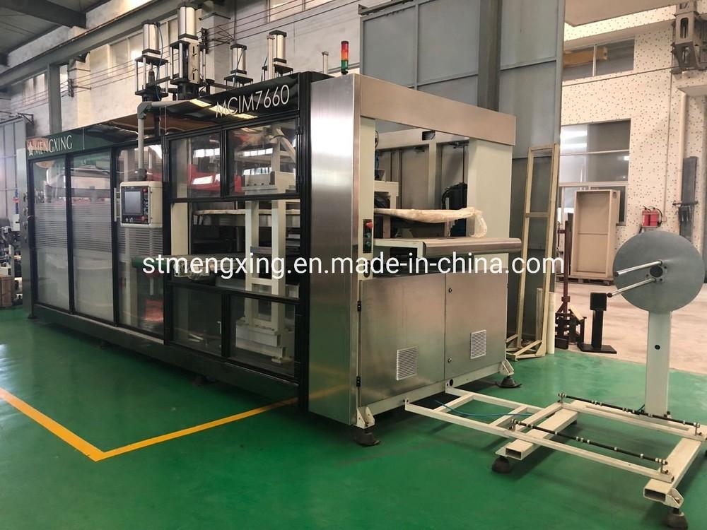 Mcim 7660 Full-Auto Plastic Lids Forming&Cutting Machine