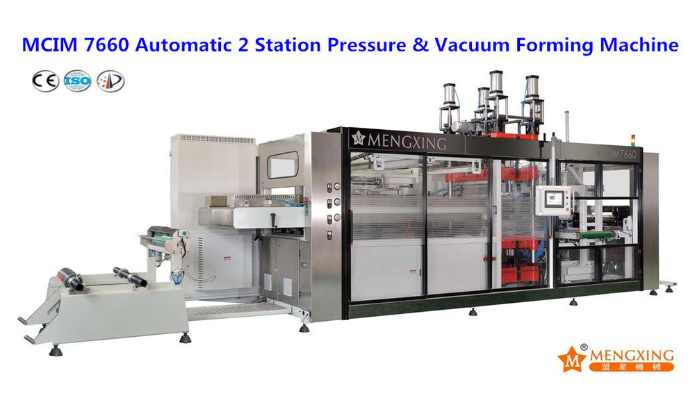 Multi-Station Fully Automatic Plastic Thermoforming Machine for Flower Pot