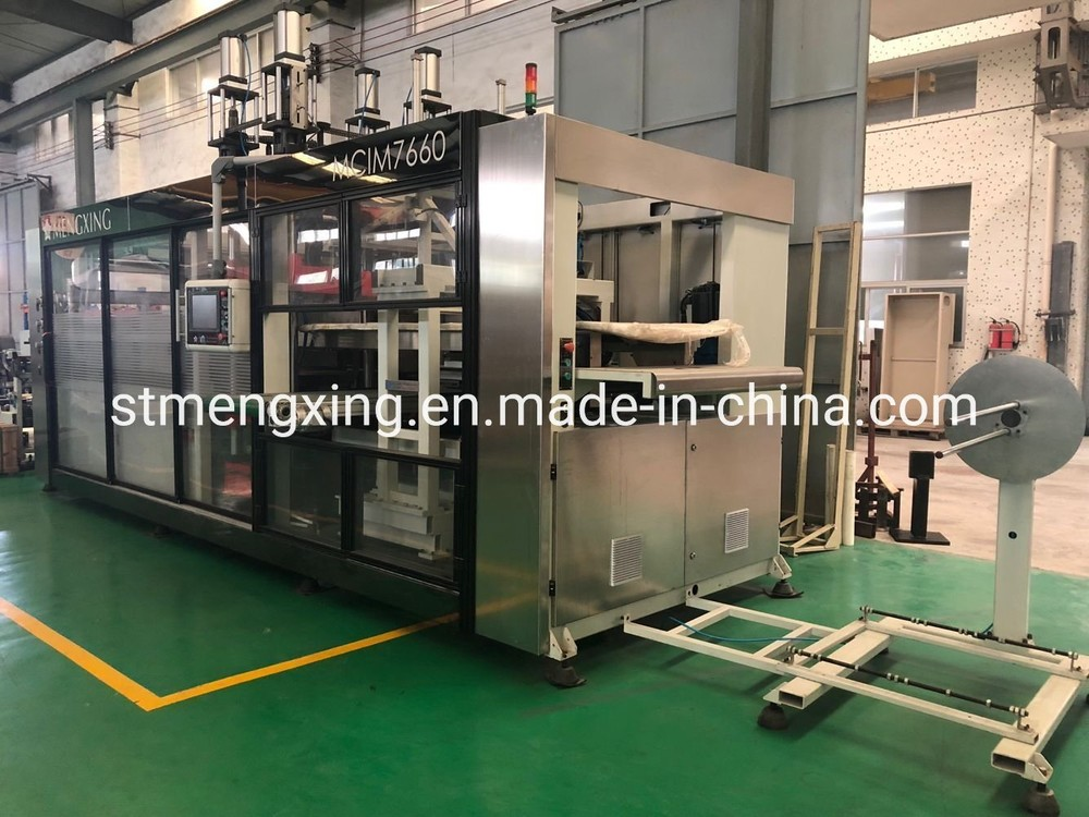 Auto 2 Stations Forming Machine for PS Tray (Mengxing)