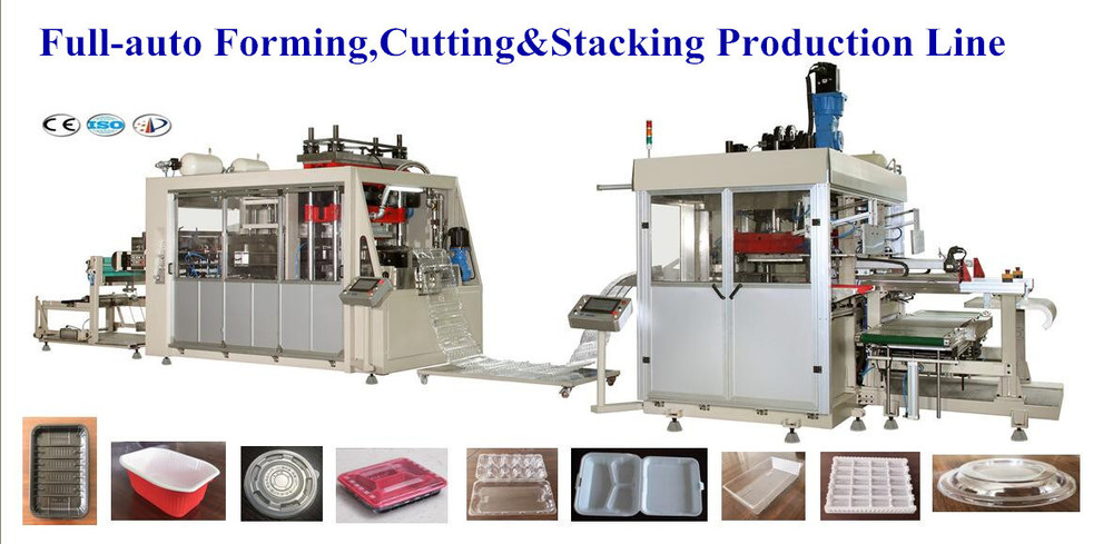 Full-Auto Forming, Cutting&Stacking Production Line
