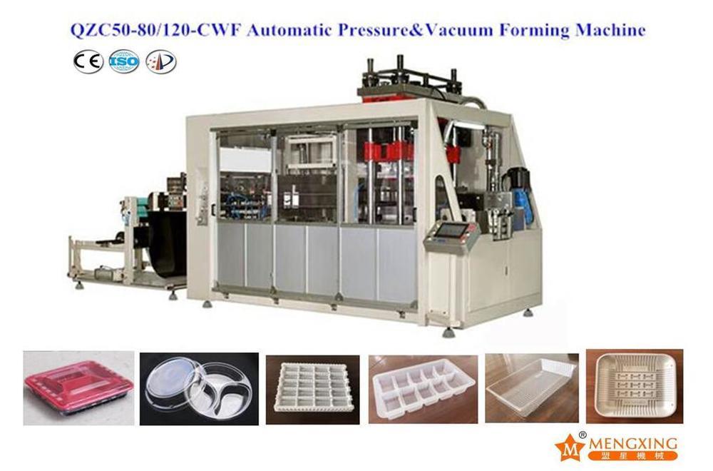 PP/Pet/PS Tray Forming Machine (QZC50-80/120-CWF)