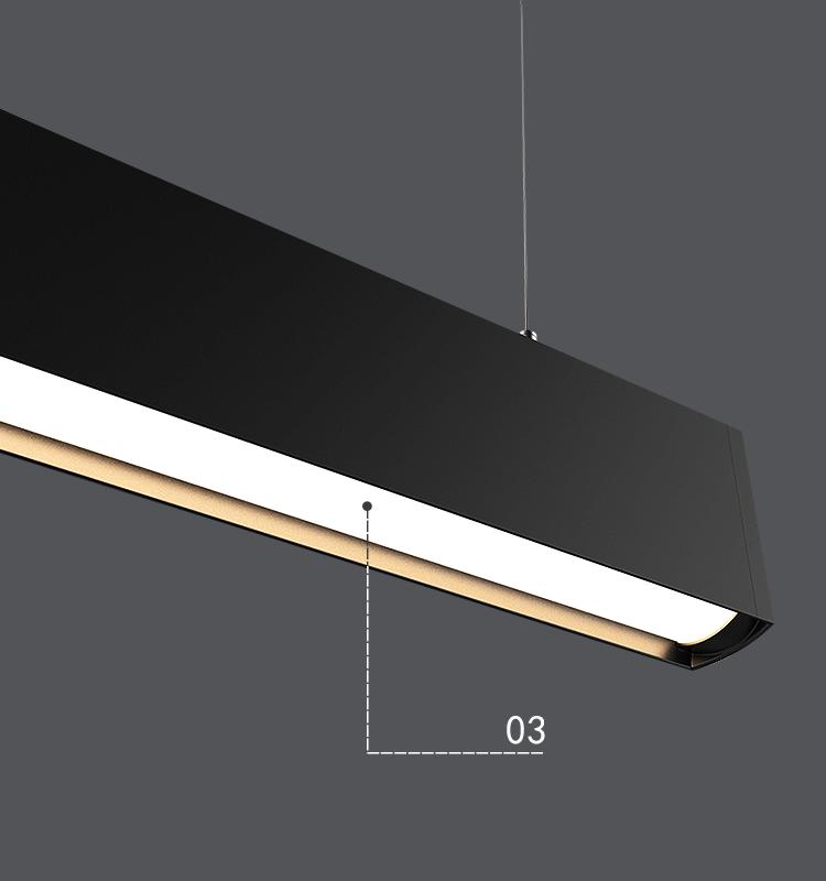 18 Warranty led linear fixture manufacturer wholesale suspended led linear light
