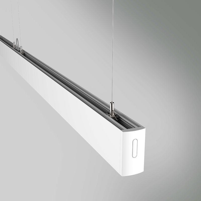 Top quality Hang mounted tube fixtures linkable led linear light