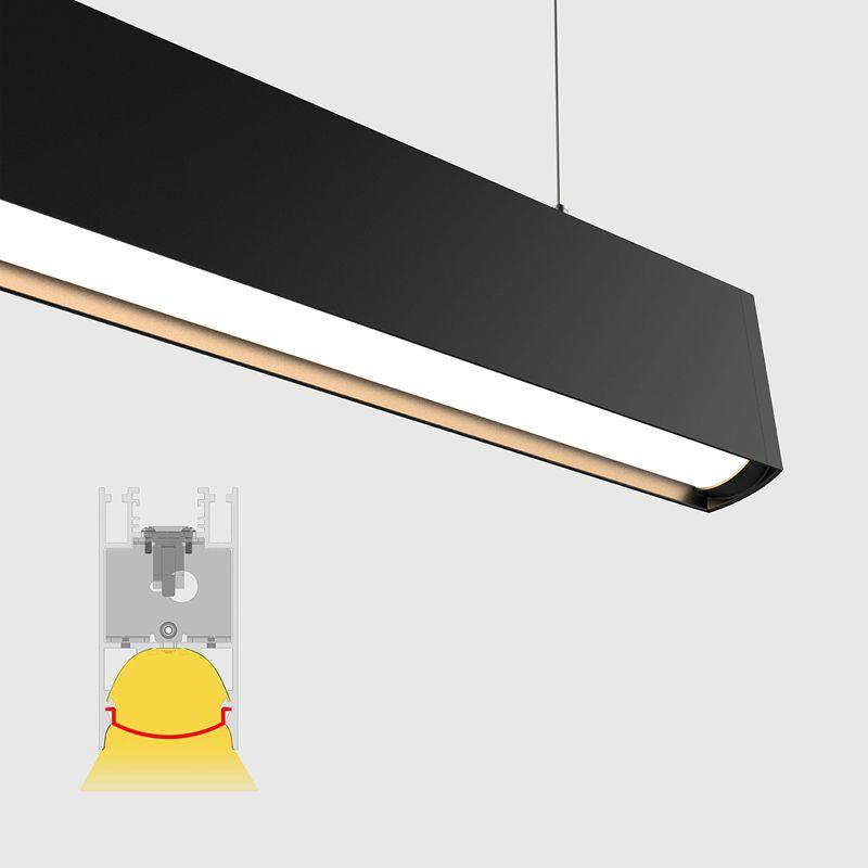 Linkable Ceiling Pendant Led Linear Lighting Fixtures For Home/Office/Studio/School/Hospital/Shopping Mall Lighting