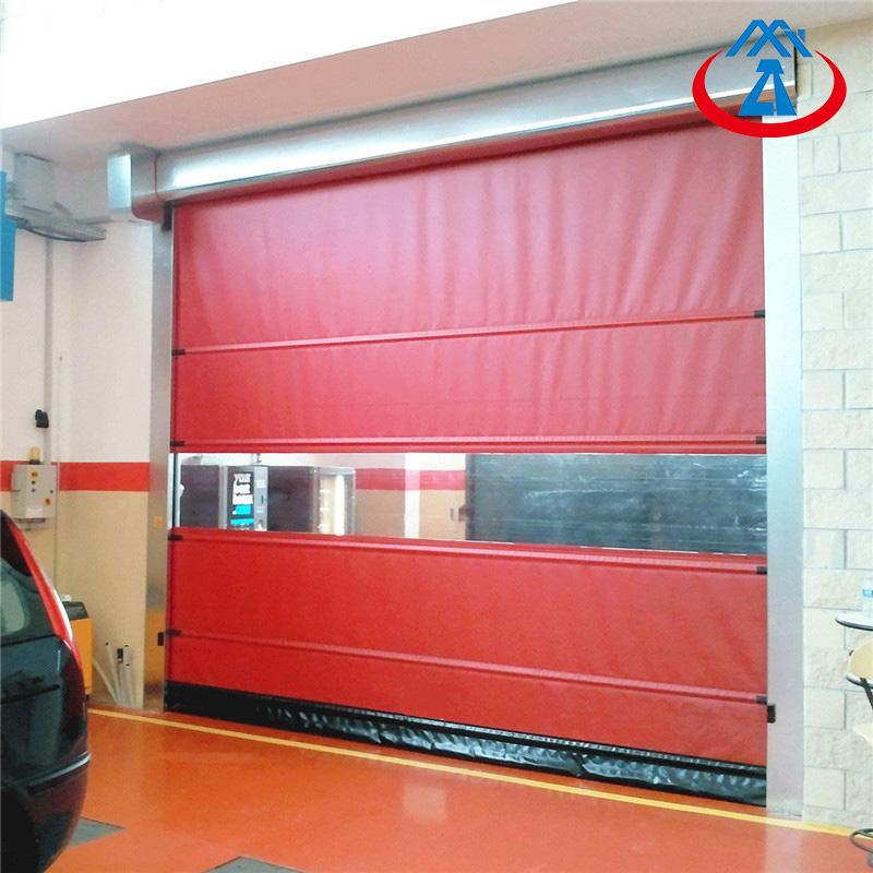 3000*4000mmCheap price Warehouse Roll Up High Speed Door PVCFast Door