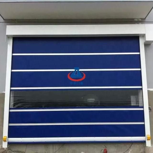 High speed roll up door high speed pvc fast door