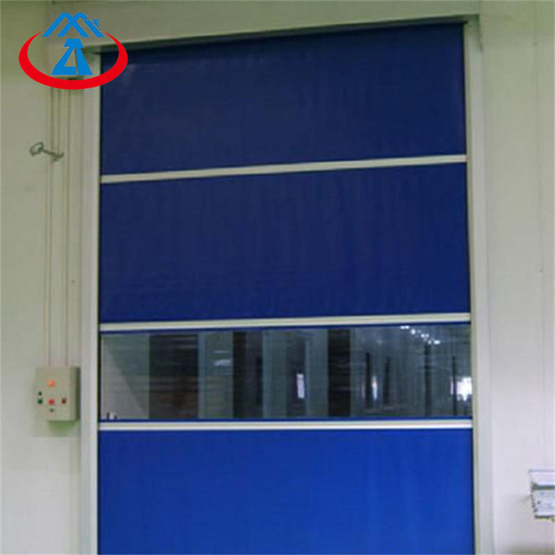 12 *10 feet Automatic High Speed PVC Fast Door Roller shutter Door