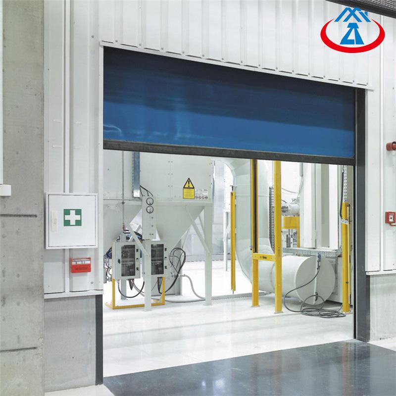 3658*3048mm Guangzhou Rolling Shutter Door High Speed Door