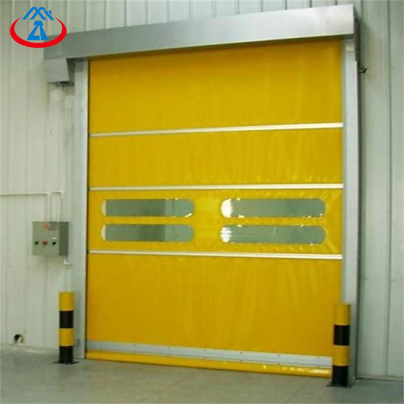 Auto Interior Roll Down Doors High speed/PVC Doors with sensor