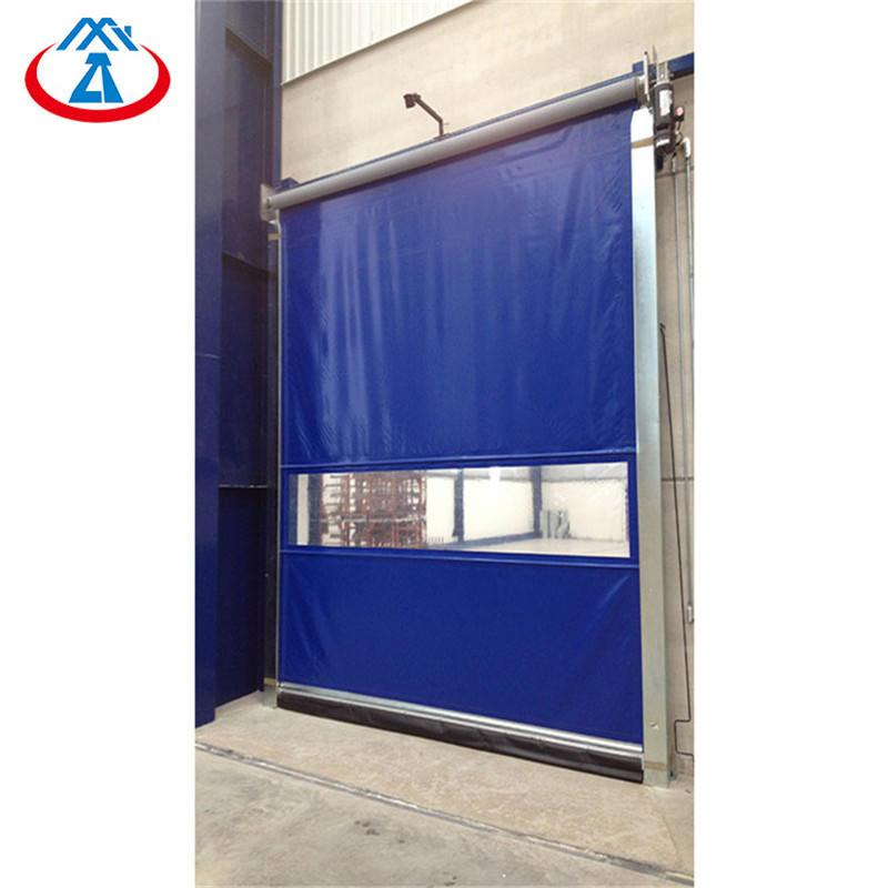3000*4000mm High Speed Roll Up Door High Speed pvc Door For Industrial