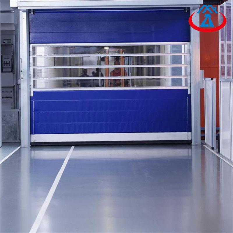 3658*3048mm High Speed Door Manufacturer Industrial Rolling Shutter PVC Door