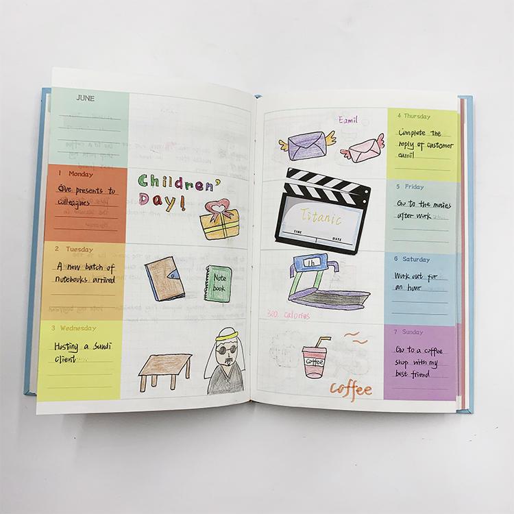product-Dezheng-Customized Agenda 2021 Planner Budget Book Custom Notebook Diary Notepad Budget Mone-1
