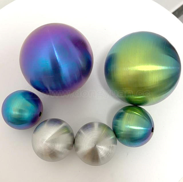Stainless Steel Decorative Color Ballswith Brushed Surface