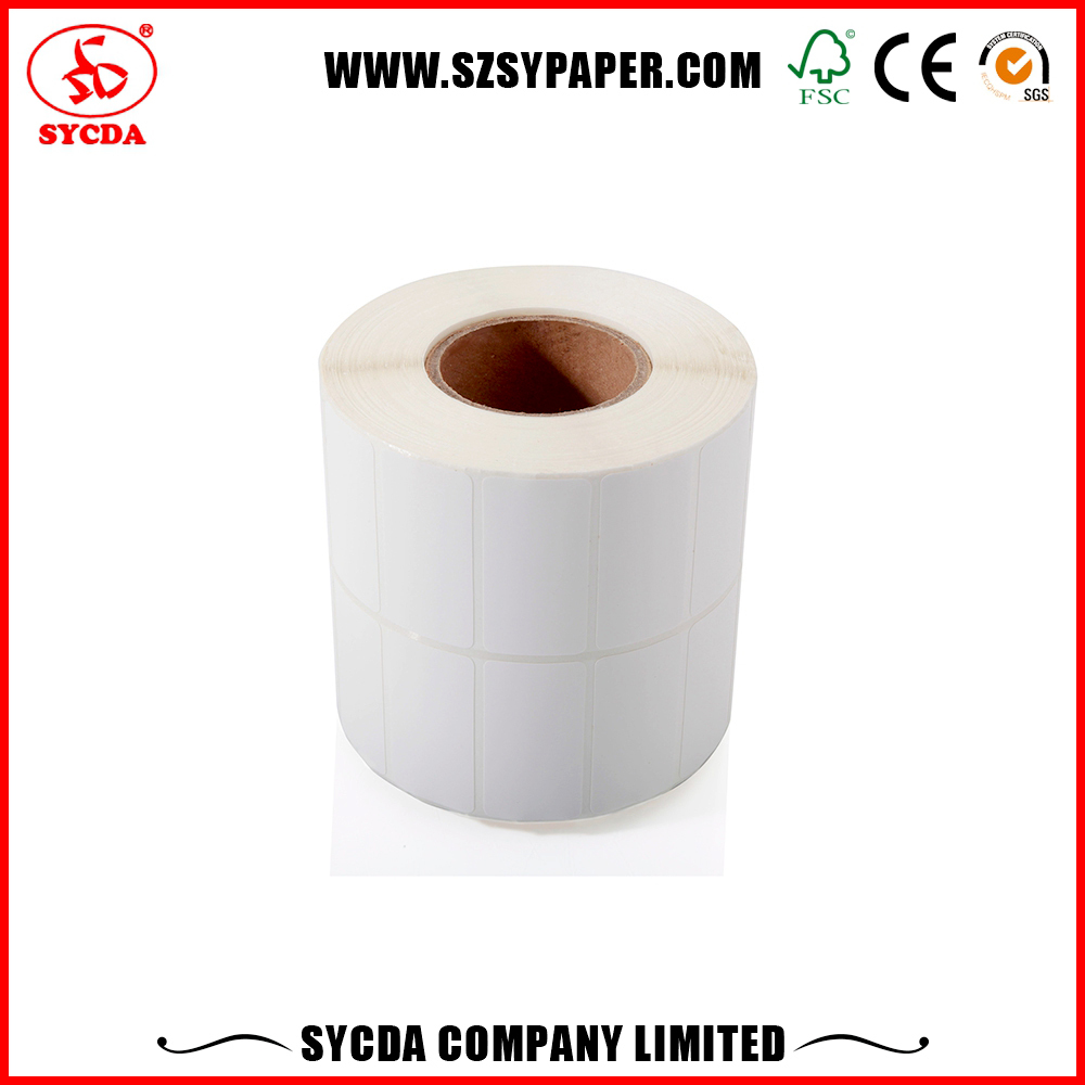Use Release self adhesive paper manufacturers custom printing roll label sticker