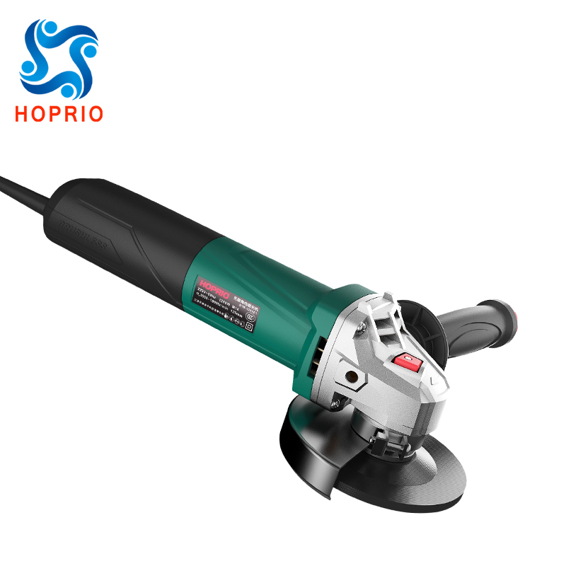 HOPRIO S1M-125YE1 5 Inch Heavy Duty Brushless Electric Grinder