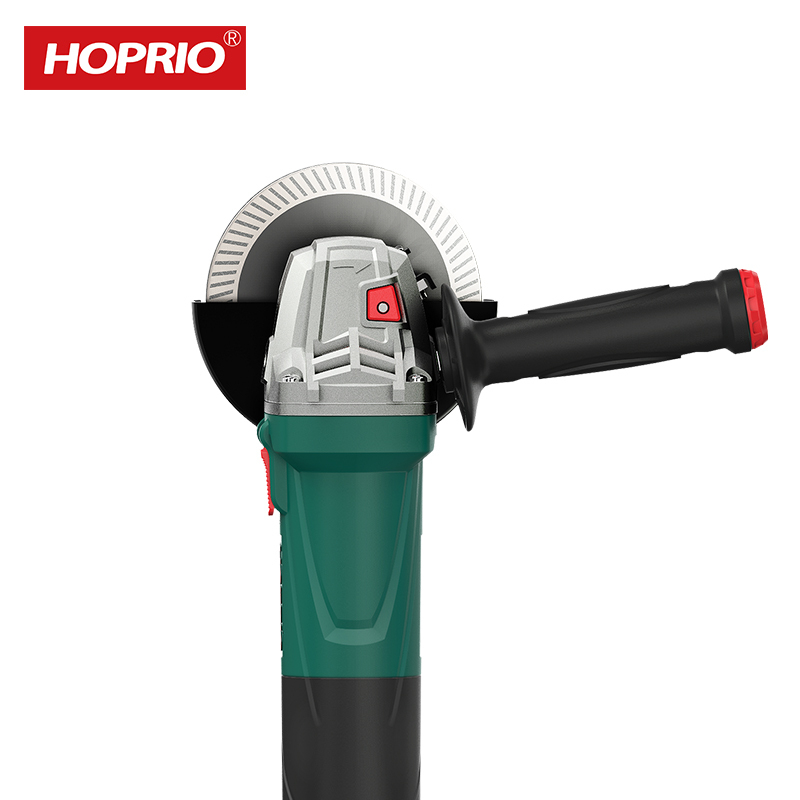 Hoprio S1M-125VE1 Variable Speed Control Grinder Machine 125mm 1250W Corded Brushless Mini Hand Grinder