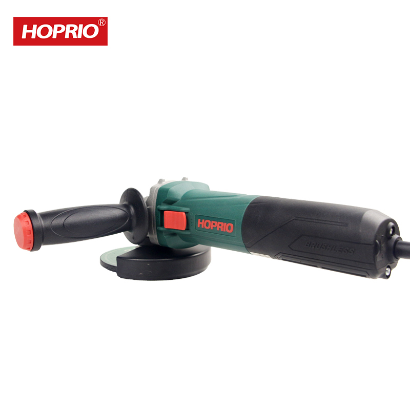 New Brushless Electric Hand Tools 5 Inch Variable Speed Angle Grinder