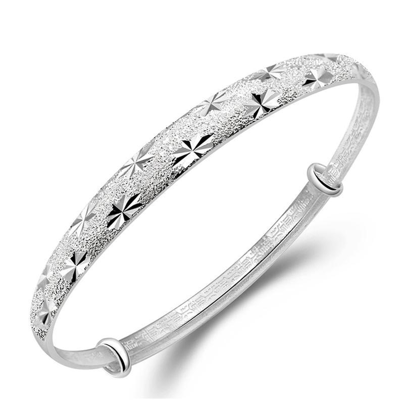 IP&PVD plating stylish fashion rhodium plated tibetan silver bracelet