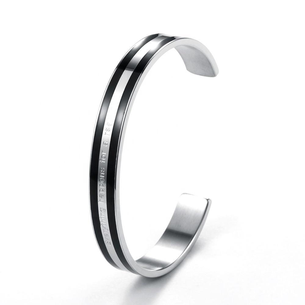 Open-ended for men vintage sterling silver charm bracelet