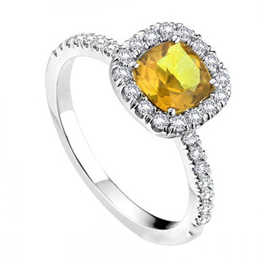 Custom orange zircon multi gemstone 925 sterling silver rings
