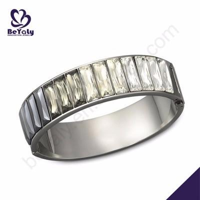 High quality women beloved vogue silver bangle pulseras