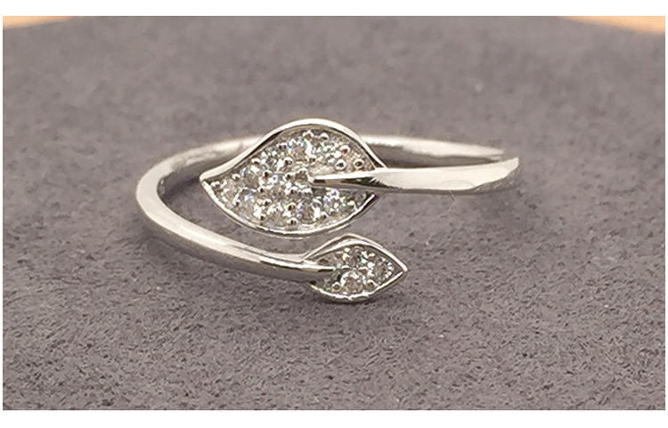 Daily Wear Cz Set Wholesale Cheap Cameo Silver Ring Adjustable