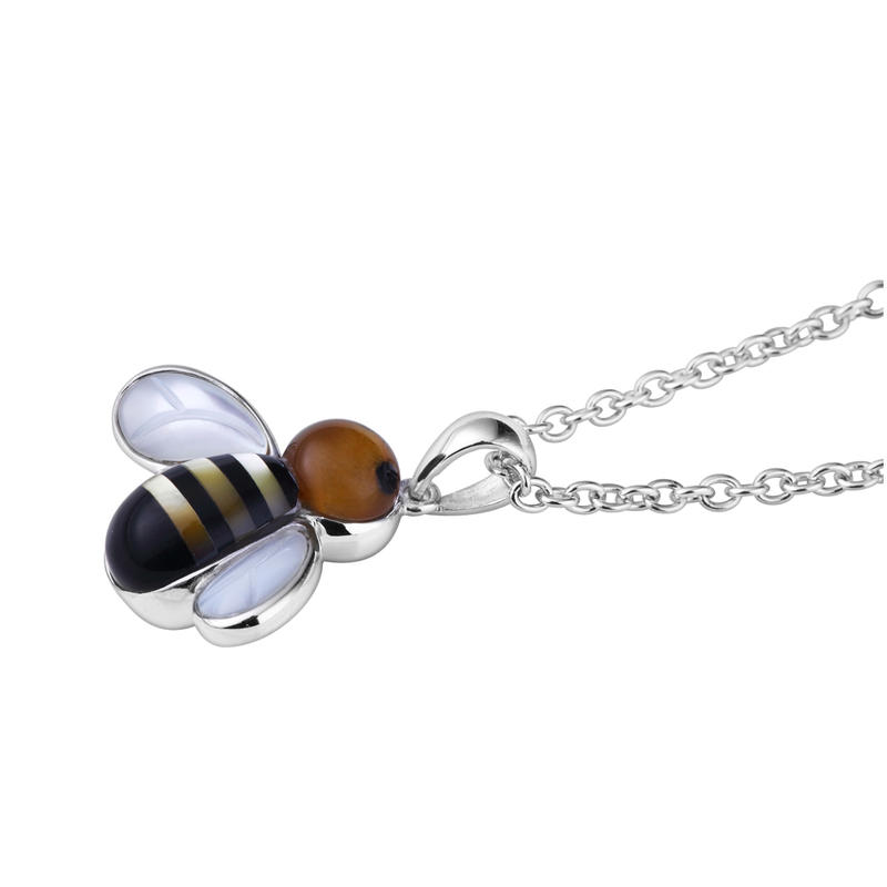 Low Moq Resale Cute Silver Bee Charms And Pendants