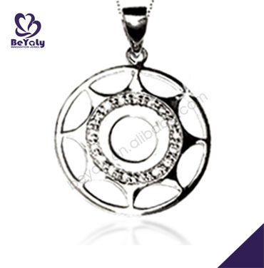 Sun wheel fairy 925 sterling silver superman pendant