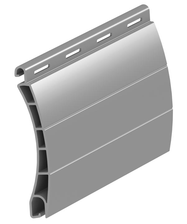 Outdoor roller shutter slats aluminum extrusion profile