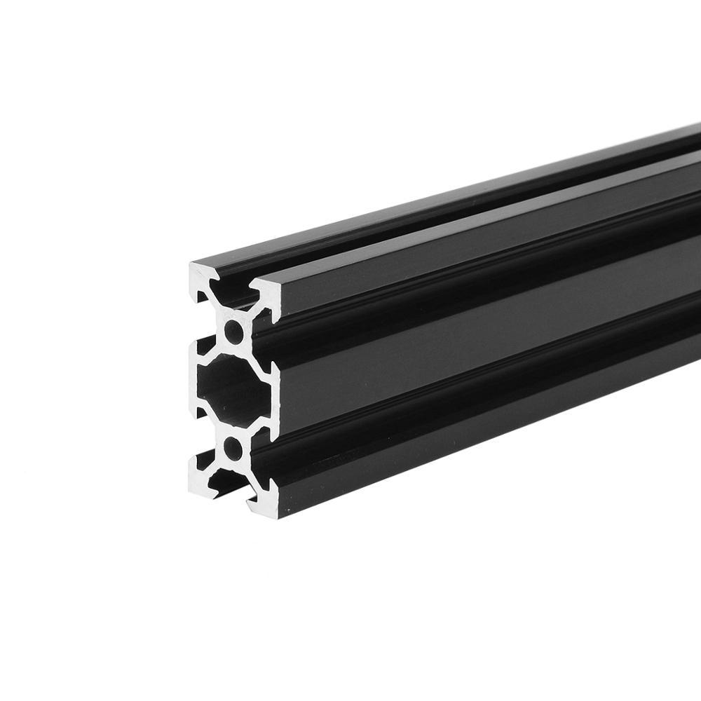 Good Quality Discount Aluminum Extrusion Profile for Industry/Building DIY CNC Tool Black
