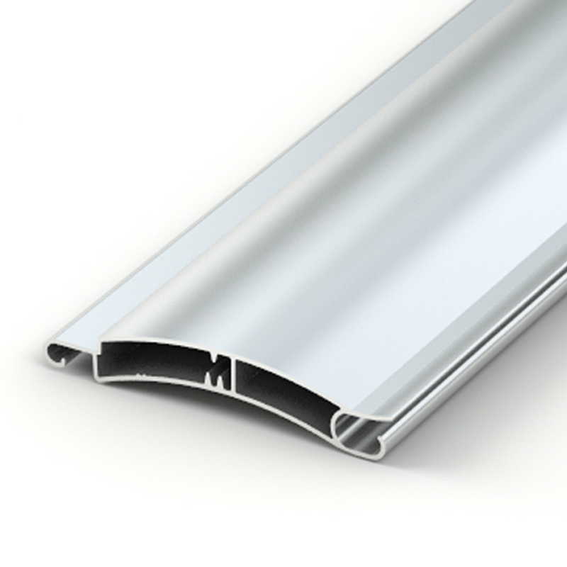 Aluminum slats profiles for roller shutters