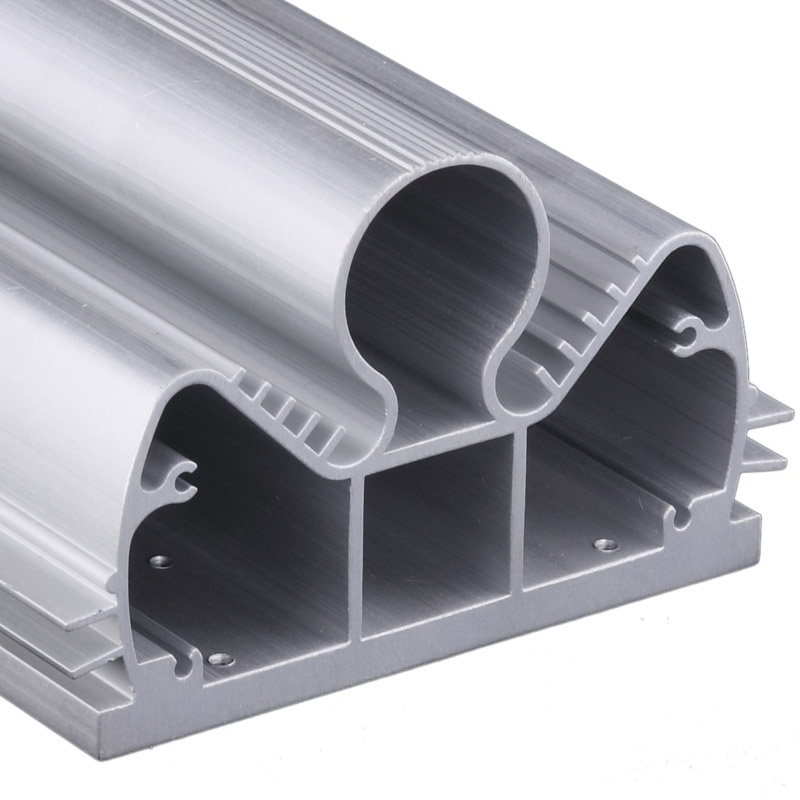 Anodized Extrusted Aluminum Large Section Profile for Machine Part