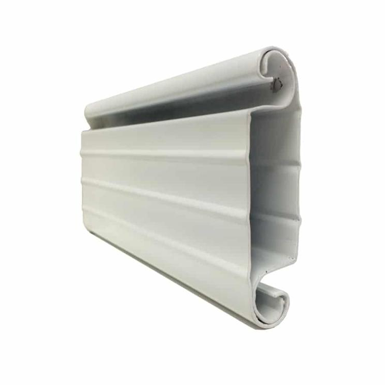 Aluminum insulated fire resistant roller shutter profile