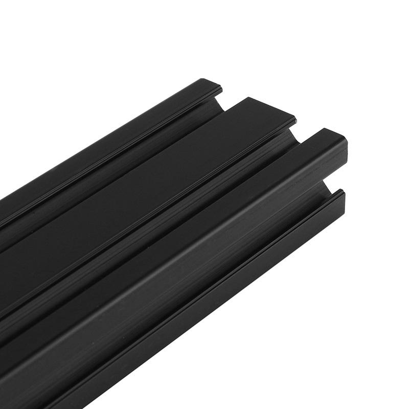 AD 70% Discount Aluminum Extrusion Profile for Industry/Building DIY CNC Tool Black