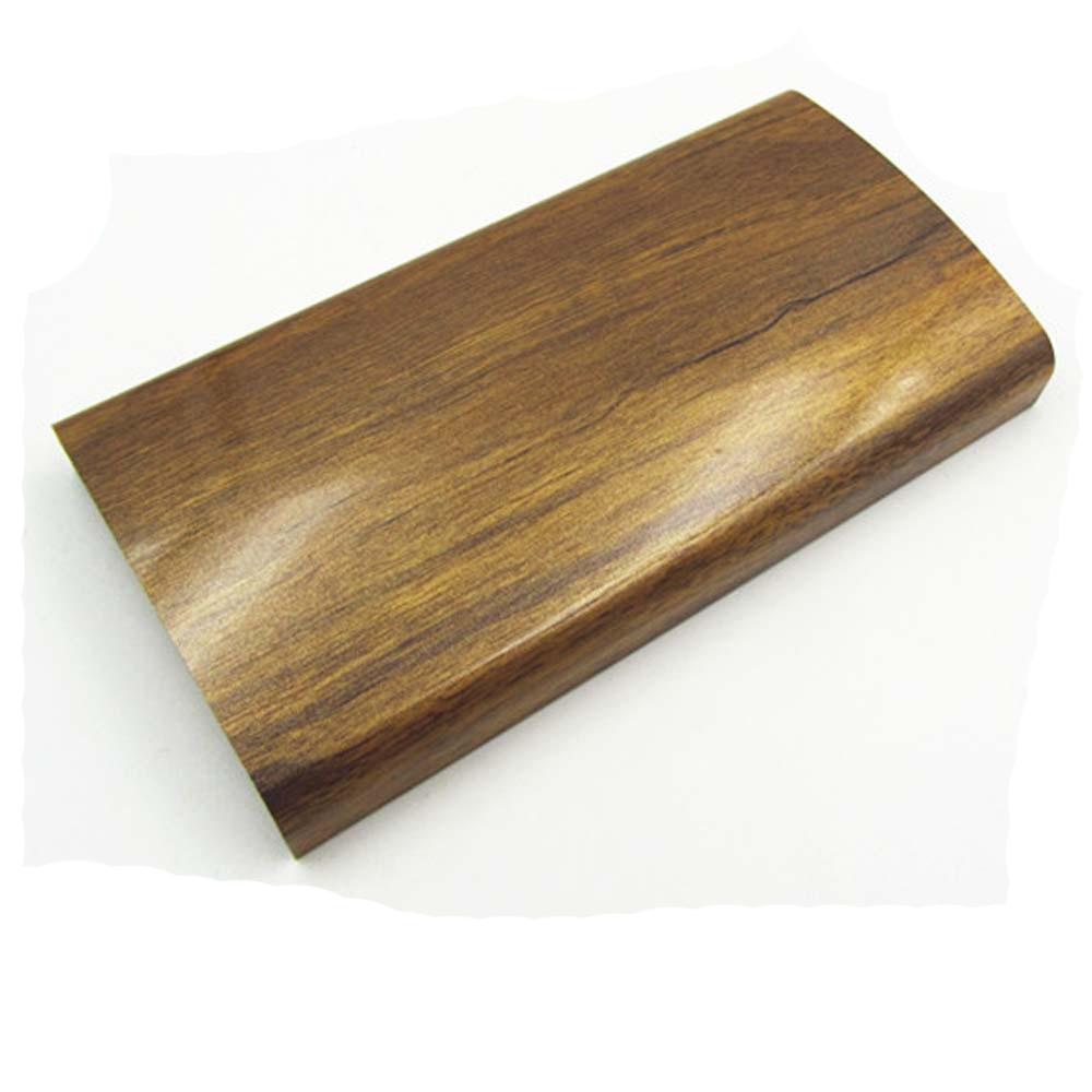Aluminium 6063 T5 wood grain finish extruded aluminum profiles