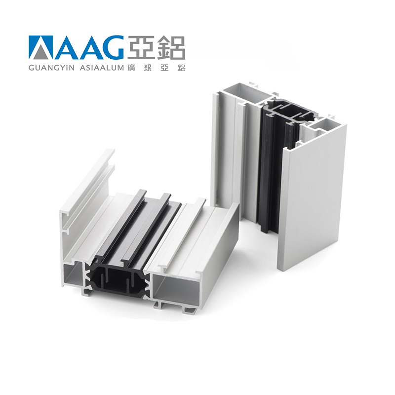 Wholesale soundproof standard size aluminium window profile